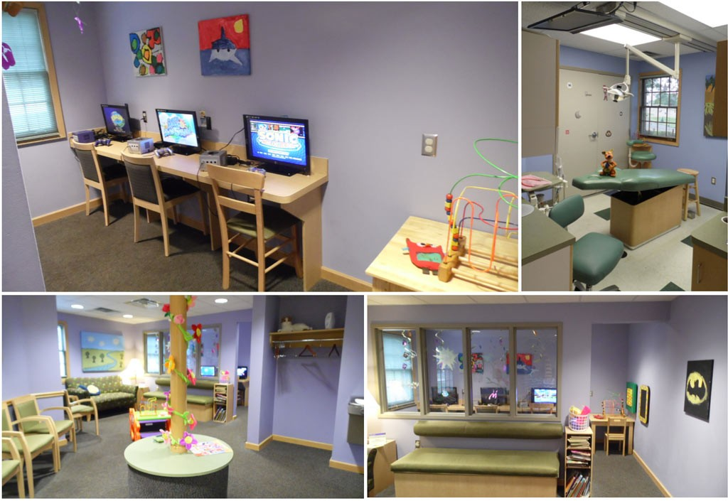 Pediatric Dentist kids game room