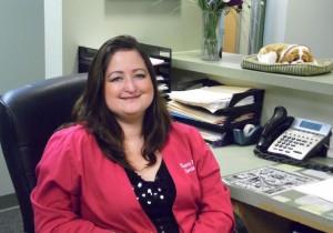 Misty-Front-desk-greeter-Dr-Girdlestone
